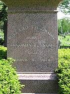 Fillmore obelisk detail