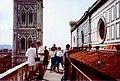 Firenze 1993 - Duomo Top Walkway.jpg