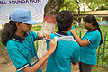 First Aid and Emergency Management Session - Summer Camp - Nisana Foundation - Sibpur BE College Model High School - Howrah 2013-06-08 9187.JPG