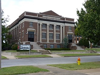 National Register of Historic Places listings in Craig County, Oklahoma - Image: First Methodist Episcopal Church, South