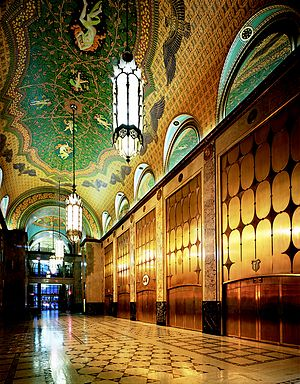 Fisher Building - Lobby