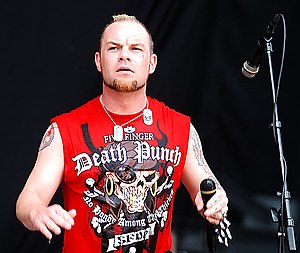 Ivan L. Moody - Moody performing at Rock on the Range 2010 in Columbus, Ohio