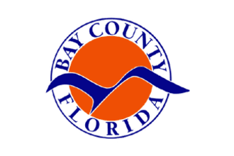 Bay County, Florida - Image: Flag of Bay County, Florida