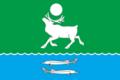 Flag of Kystatyam (Yakutia).png