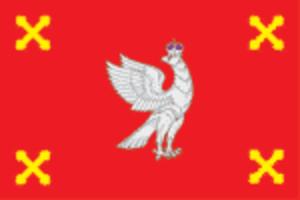 Shuysky District - Image: Flag of Shuysky rayon (Ivanovo oblast)