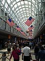 Flags in O'Hare hall 01.jpg