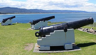Wollongong - Cannons at Flagstaff Hill Fort