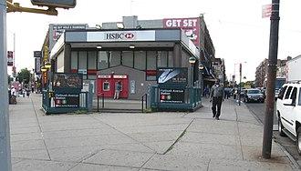 Flatbush Avenue–Brooklyn College (IRT Nostrand Avenue Line) - Image: Flatbush Nostrand jeh