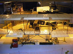 Fleet Air Arm Museum - Hall 1 undergoing refurbishment during 2008