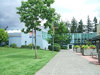 Surrey Libraries - Fleetwood Library branch of the Surrey Public Library