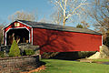 Flickr - Nicholas T - Kreidersville Covered Bridge (Polarized).jpg