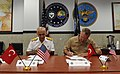 Flickr - Official U.S. Navy Imagery - deputy chief of staff for strategy, resources and plans at U.S. Naval Forces Europe-Africa signs the official minutes of a meeting..jpg