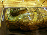 Anthroproid coffin (mummy) of Aba in 600 BC