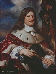 Elector Friedrich Wilhelm I of Brandenburg, painting by Govaert Flinck