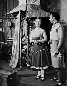 Florence Henderson and William Tabbert from the Broadway production of Fanny (1955)