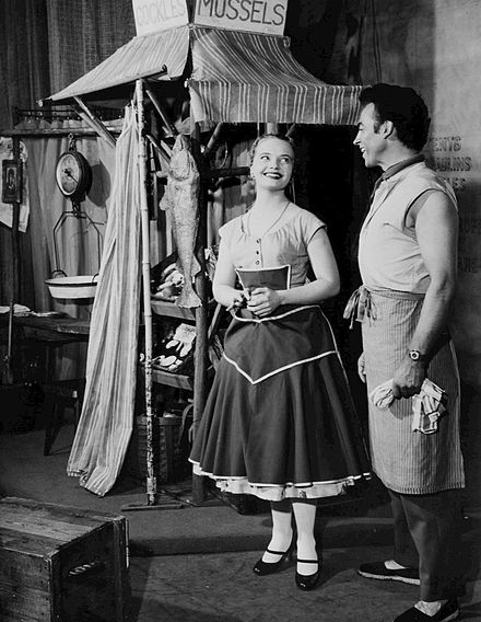 Florence Henderson and William Tabbert from the Broadway production of Fanny (1955) Florence Henderson William Tabbert Fanny.jpg