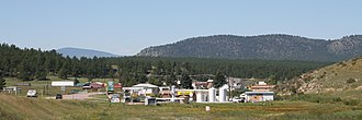 Florissant, Colorado - Panorama of Florissant