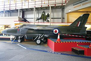 Folland Gnat F1 XK740 (6810860658).jpg