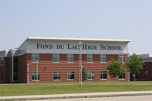 Fond du Lac, Wisconsin - Fond du Lac High School