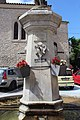 Fontaine place Fontaine St Michel Observatoire 6.jpg