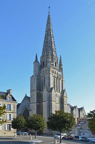 Fontenay-le-Comte - Image: Fontenay le Comte Eglise Notre Dame (1)