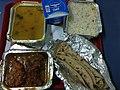 Food in Rajdhani Express Indian Railway 3.jpg
