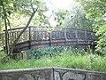 Footbridge over the River Pool - geograph.org.uk - 841111.jpg
