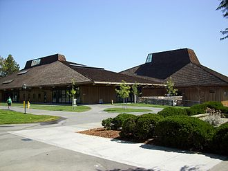 Foothill College - Example of Foothill's campus architecture