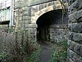 Footpath under railway bridge - geograph.org.uk - 315424.jpg