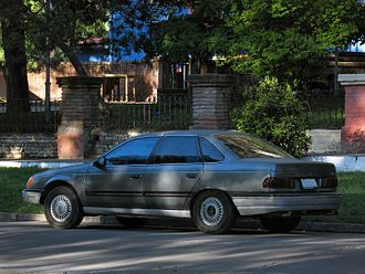 Mid-size car - 1986–1989 Ford Taurus