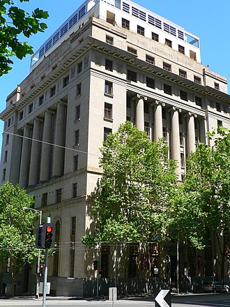 Beaux-Arts architecture - Port Authority building in Melbourne