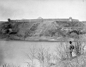 Fort Edmonton -  Fort Edmonton, 1870.