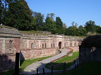 Fort Rapp - Entrance to Fort Rapp