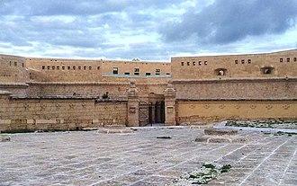 Fort Saint Elmo - Fort Saint Elmo main entry after restoration