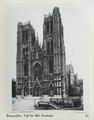 Fotografi från St Gudule i Bryssel - Hallwylska museet - 104465.tif