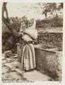Fotografi på kvinna och baby, Algeriet - Hallwylska museet - 107933.tif