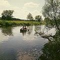 Fotothek df ld 0003069 001 Landschaften ^ Flußlandschaften ^ Bootsfahrten -Kahnf.jpg
