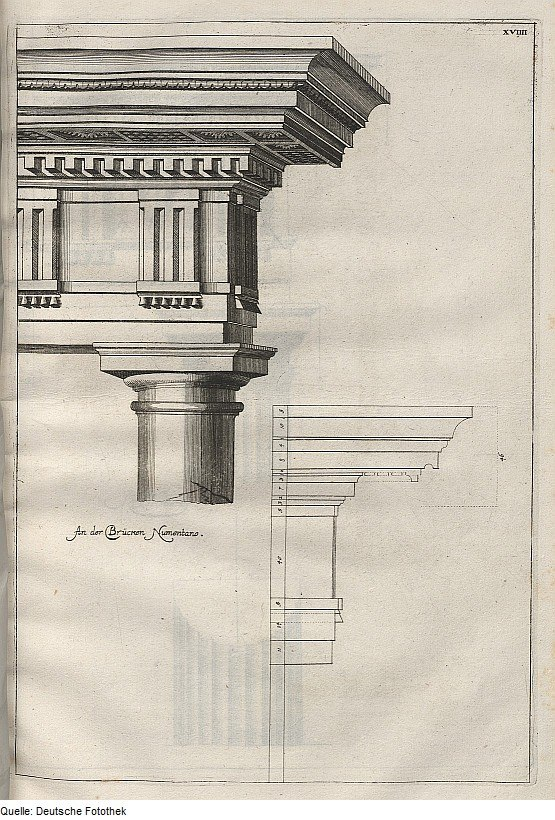 Fotothek df tg 0001022 Architektur ^ Säule ^ dorische Ordnung ^ Brücke