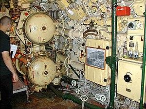 Foxtrot-class submarine - Inside a Foxtrot museum ship