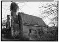 """Frame House and Kitchen """"Bowlers"""", State Route 684, Center Cross, Essex County, VA HABS VA,29-BOWL,1-5.tif"""