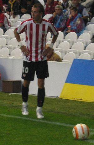 Fran Yeste, midfielder of Athletic Bilbao. Deu...