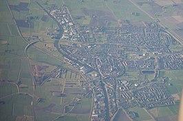 Luchtfoto uit 2014