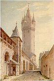 Frankfurt Eschenheimer Turm-Stadtmauer 1790.jpg