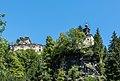 Frauenstein Grassen Schlossruine Niederkraig mit Johannes-Nepomuk Kapelle 14082017 0383.jpg