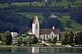 Freienbach - Kirche - Zürichsee-Ufenau - ZSG Wädenswil 2012-07-30 11-02-22.JPG