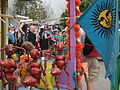 Fremont Solstice Parade 2008 - insects and sun flag.jpg