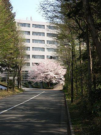 Sagamihara Campus - Main entrance