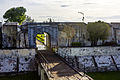 Front gate of Fort Marlborough, Bengkulu 2015-04-19 01.jpg