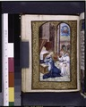 Full-page miniature of Annunciation (NYPL b12455533-426255).tif