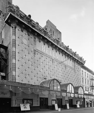 Henry Beaumont Herts - Fulton (Helen Hayes) Theater, 42nd Street, NYC, circa 1980 (razed)